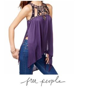 Free People Vision Quest Long Tank